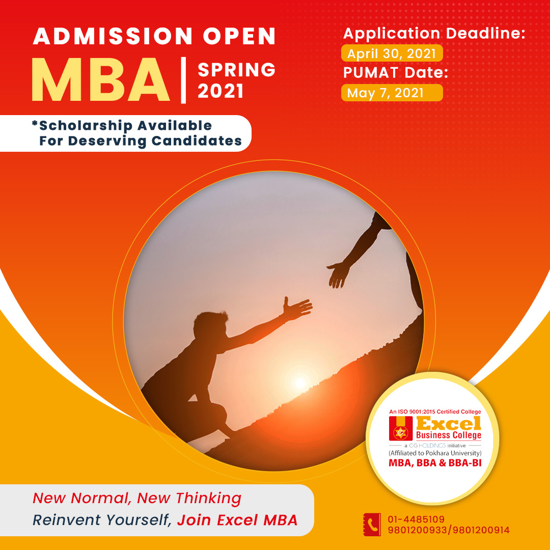 Admission Open MBA Spring 2021